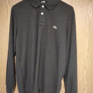 Lacoste men long sleeve shirt size 6 xl